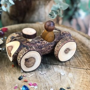 Wooden Gnome Car